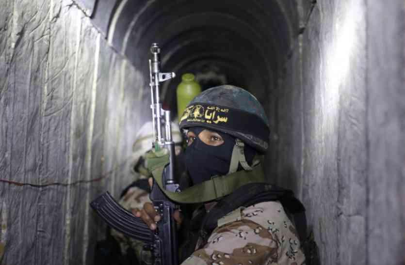 तीन महीने में तीसरी बार, इजरायल ने की हमास सुरंग को ध्वस्त करने की कार्रवाई
