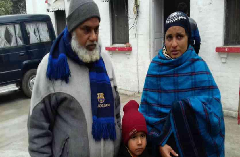 शौहर ने मारपीट पर बीवी को घर से निकाला, फोन पर दिया तीन तलाक