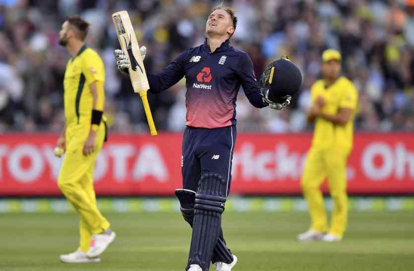 फिंच के शतक पर भारी पड़ी रॉय की रिकॉर्ड पारी, इंग्लैंड को मिली दौरे की पहली जीत