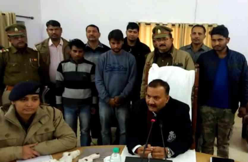 10 किलो चांदी लूट का खुलासा, दो बदमाश गिरफ्तार