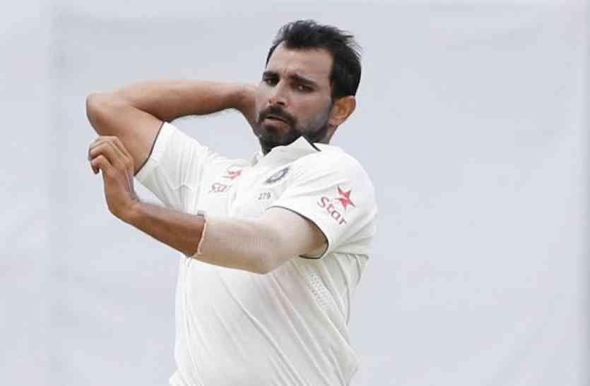 मोहम्मद शमी ने पूरा किया टेस्ट विकेटों का शतक