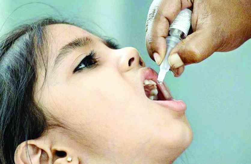 पोलियो की वैक्सीन पिलाई जाएगी,ट्रांसफार्मर चोरी के बाद बिजली आपूर्ति ठप