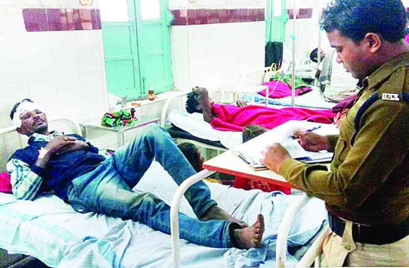 सड़क किनारे कराह रहे घायल को महिला तहसीलदार ने पहुंचाया अस्पताल