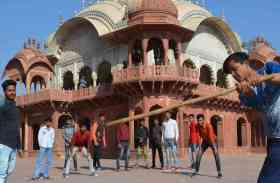 अलवर में मकर-संक्रांति को रहा खेलों का माहौल, देखें फोटो