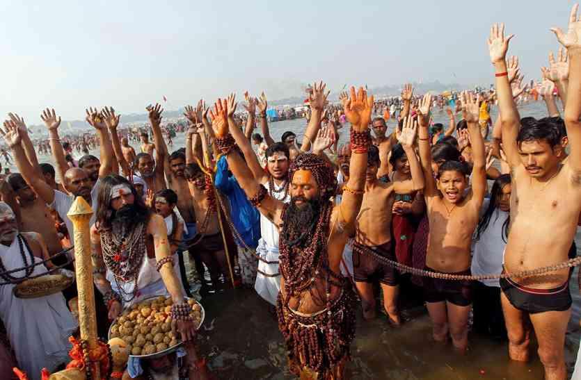गंगासागर में लाखों ने किया पुण्य स्नान
