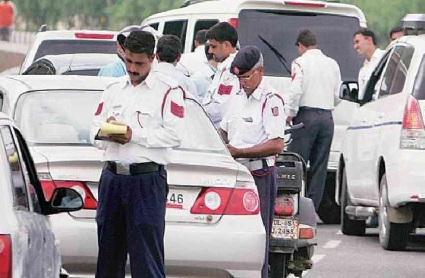 2017 में यातायात पुलिस ने अलवर में काटे कुल इतने चालान, फिर भी नहीं सुधरे हालात