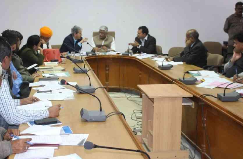 JAISALMER NEWS- केन्द्रीय कृषि राज्यमंत्री की यह चालाकी समझ गए सभी और हां  में हां मिलाकर बैठक की कर दी...