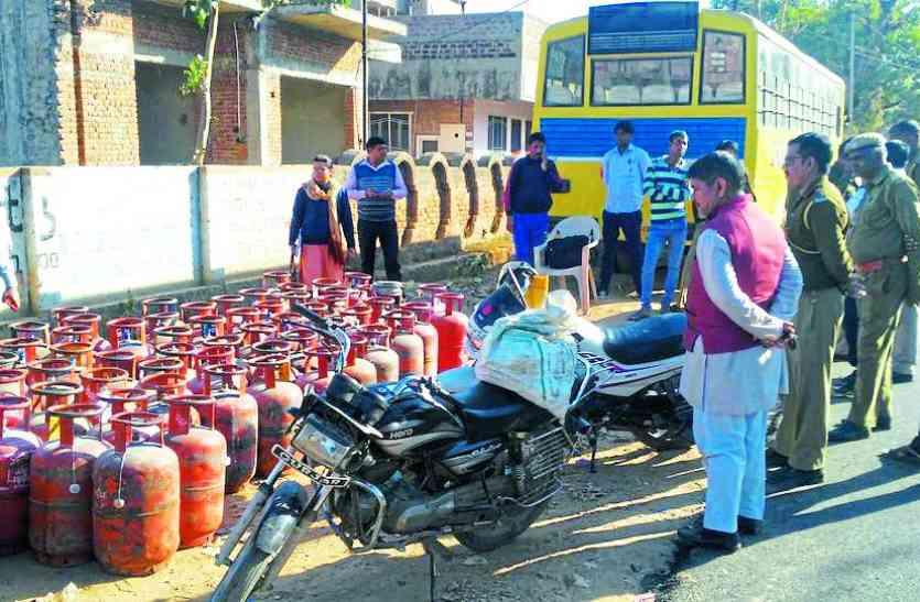 अलवर में इस तरह गैस चोरी कर रहे थे डिलीवरी मैन, अब रसद विभाग करेगा कार्रवाई
