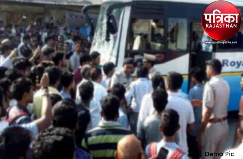 डूंगरपुर : मां के साथ बाजार गए 6 साल के मासूम की बस के चपेट में आने से मौत, तमाशबीन बनकर देखते रहे लोग