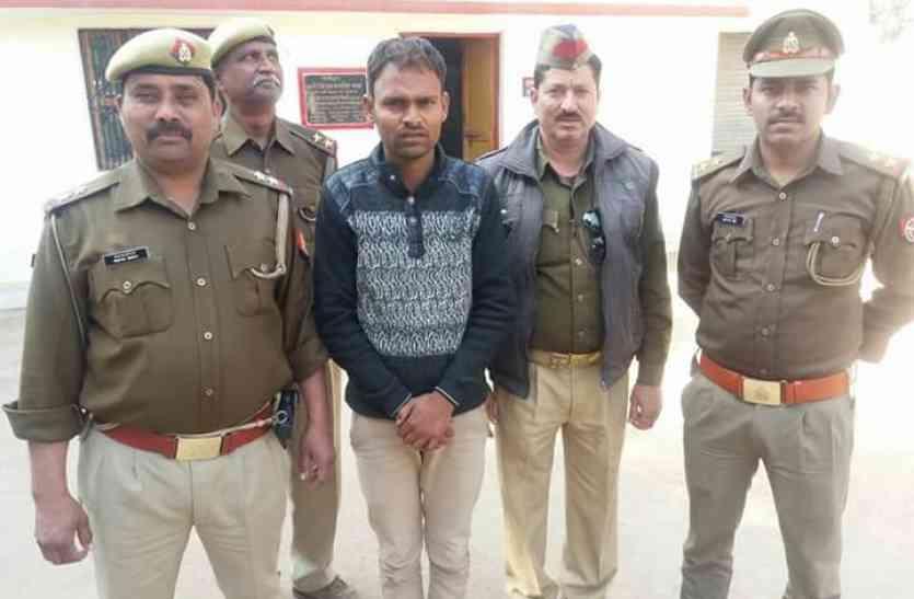 गैंग बनाकर चोरी व लूट को अंजाम देने वाला शातिर अपराधी चढ़ा खाकी के हत्थे, अन्य सदस्यों को एमपी पुलिस ने दबोचा