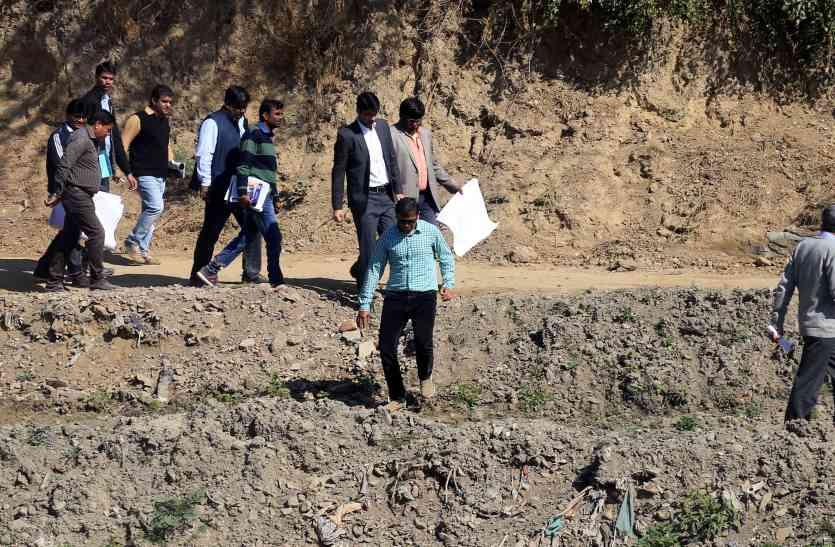 उदयपुर में 2020 तक बनेगी आयड़ में ट्रंक लाइन व सीवरेज,आरयूआईडीपी के पीडी डॉ. प्रीतम ने पैदल नापी आयड़