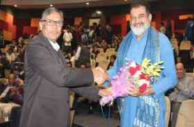 मणिपाल विश्वविद्यालय जयपुर- ई-कॉन्क्लेव समारोह में बोलें पद्मश्री टी. वी. मोहनदास, इंटरनेट के कारण आज कुछ भी नहीं छिपा