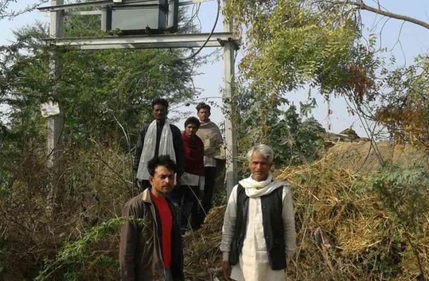 भाजपा का गढ़,फिर भी डेढ़ साल से अंधेरे में खिरखिरी