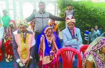 MP के इस शहर में एक साथ हुए हिन्दू-मुस्लिम के विवाह,खबर पढ़ आप भी हो जाएंगे चकित