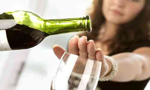 How to get rid of alcohol