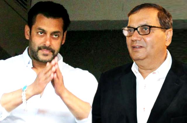 Salman Khan and Subhash Gahi