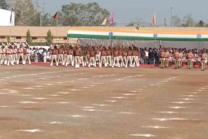 salute of parade