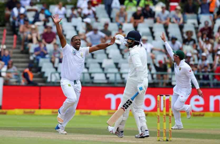 Live INDvSA: रबाडा की घातक गेंदबाजी जारी, भारत का स्कोर 151-6