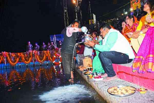 measures to prevent dirt in narmada in hoshangabad madhya pradesh news