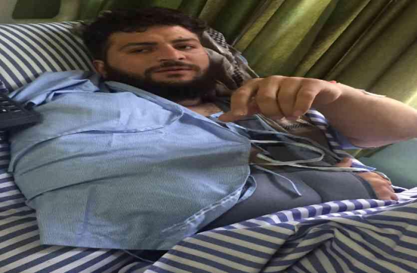 VIDEO: जयपुर के अस्पताल में अफगानिस्तान के मशहूर बॉडी बिल्डर की सफल सर्जरी, वेट लिफ्टिंग के दौरान फट गई थी छाती