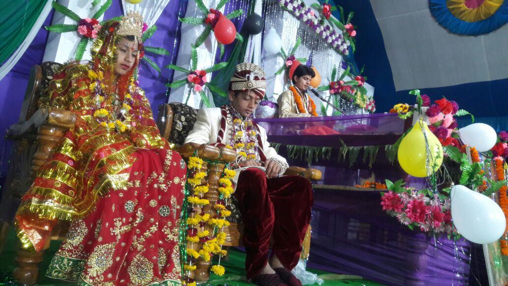 कृष्ण-रुक्मिणी विवाह प्रसंग सुन भाव-विभोर हुए श्रोता