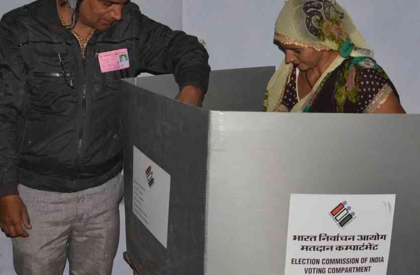 अलवर लोकसभा उपचुनावों में जिनकी ड्यूटी लगाई थी वो सेकते रहे धूप, कर्मचारी डलवाते रहे वोट