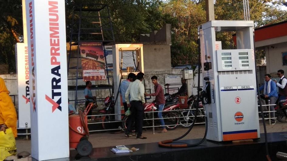 प्रतिदिन बढ़ रहे पेट्रोल-डीजल, श्योपुर में 80 रुपए के नजदीक पहुंचा पेट्रोल