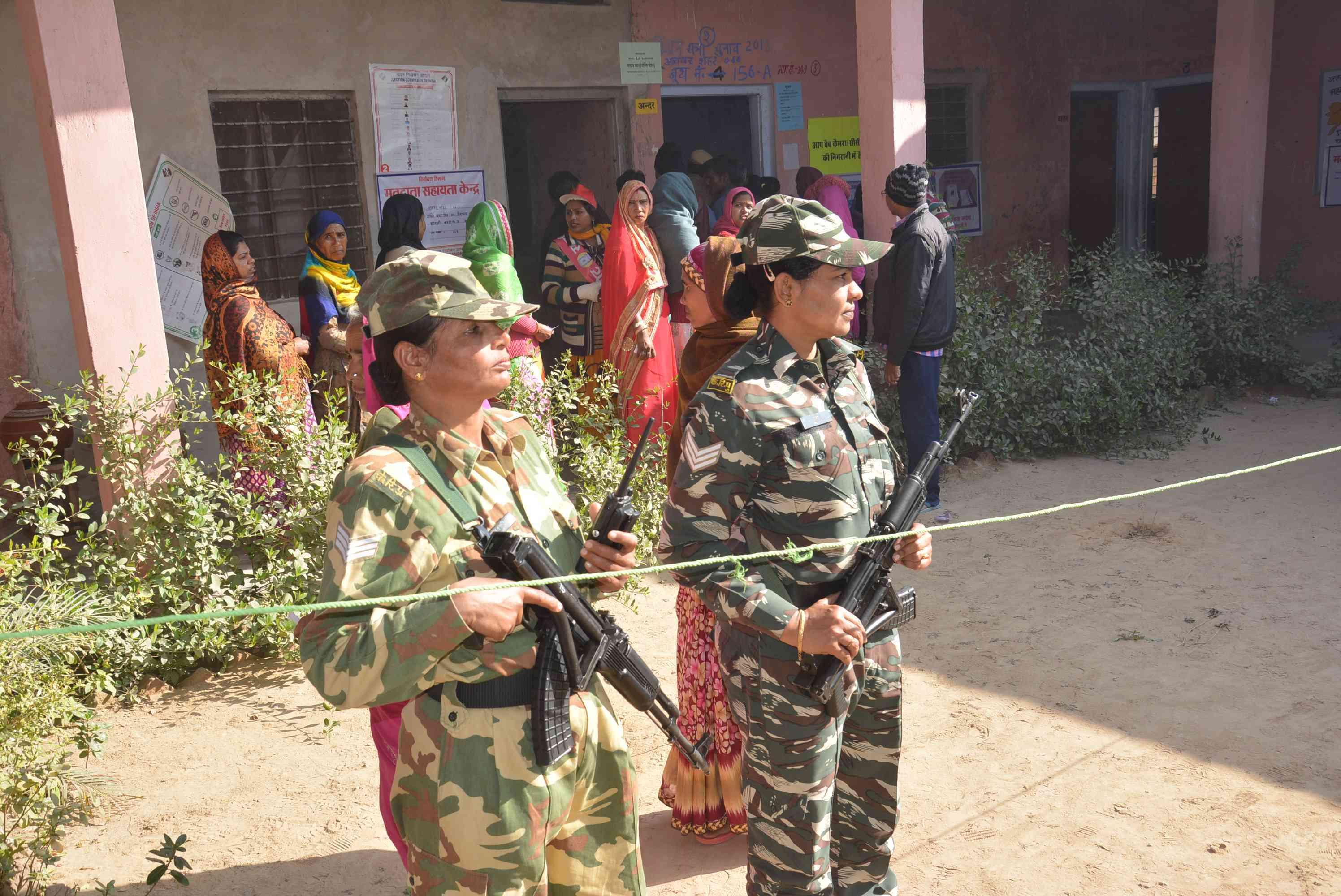 police security was good in alwar loksabha elections