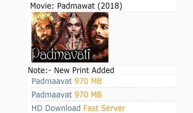 padmavati full hd movie download from pagalworld
