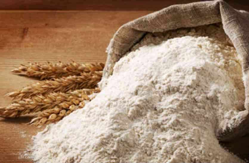 how to check pure and mixed wheat flour video news