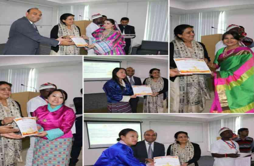 23 देशों के 45 प्रतिनिधियों ने अन्तर्राष्ट्रीय ट्रेनिंग प्रोग्राम में लिया भाग- मणिपाल विश्वविद्यालय जयपुर में दिनभर चला कार्यक्रम