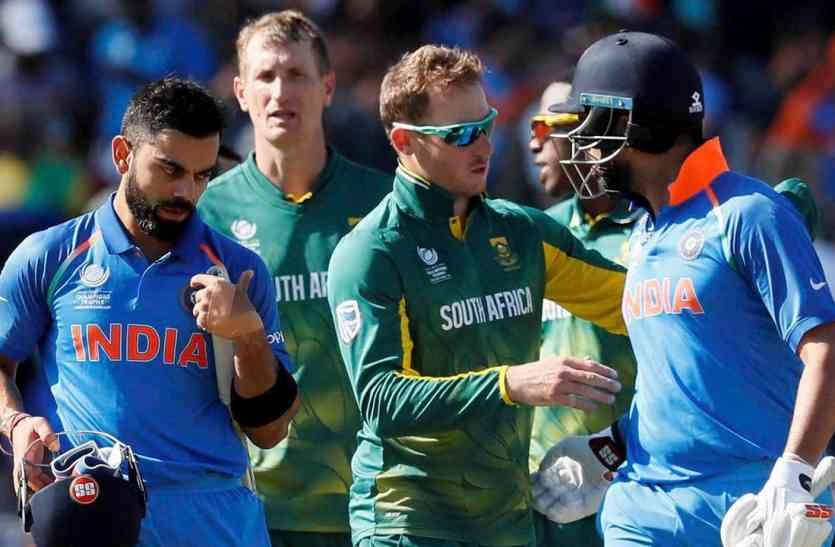IND vs RSA preview : डु प्लेसिस की गैरमौजूदगी में जीत की लय बरकरार रखना चाहेगा भारत