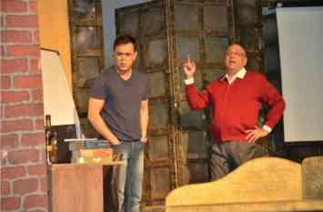 एक-शून्य-तीन...ऐसा नाटक जो दर्शकों को ले गया रहस्य और रोमांच की दुनिया में...