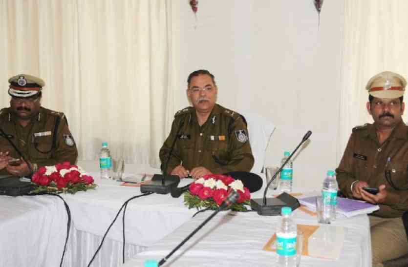 MP के DGP ने ली पुलिस अधीक्षकों की क्लास, कहा-महिला संबंधी अपराधों में विशेष ध्यान की जरूरत