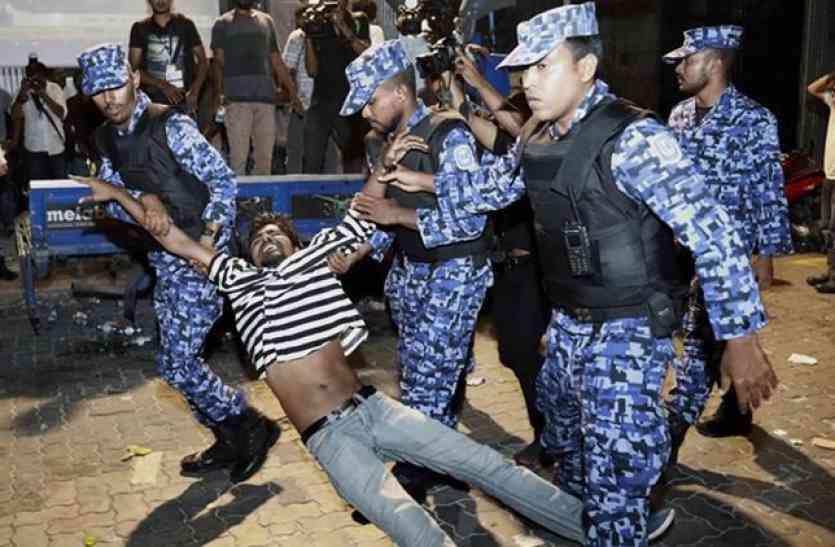 मालदीव में गहराया राजनीतिक संकट, पूर्व राष्ट्रपति ने भारत से मांगी सैन्य मदद