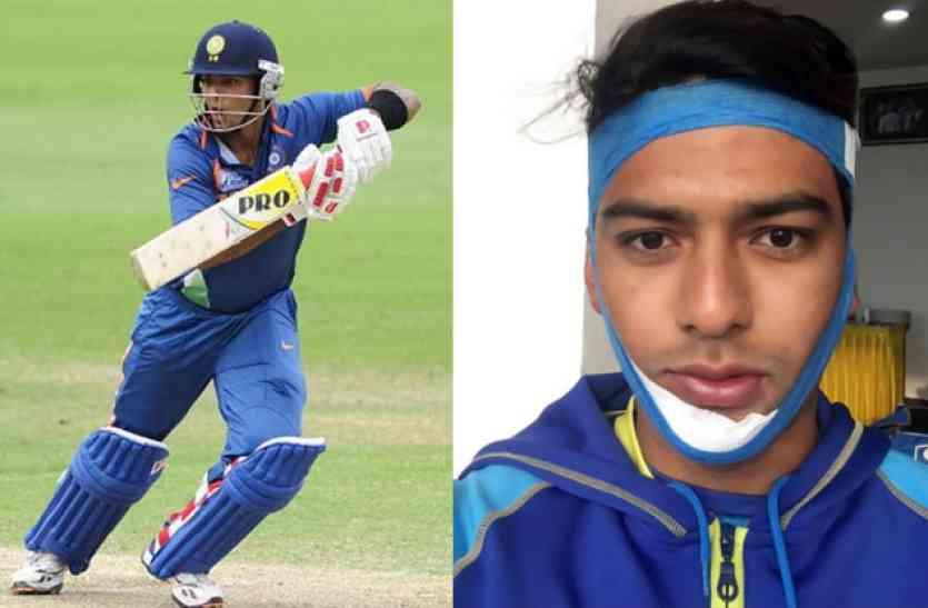 इस भारतीय क्रिकेटर ने दिलाई कुंबले की याद, टूटे जबड़े के साथ की बल्लेबाजी और ठोक दिया शतक