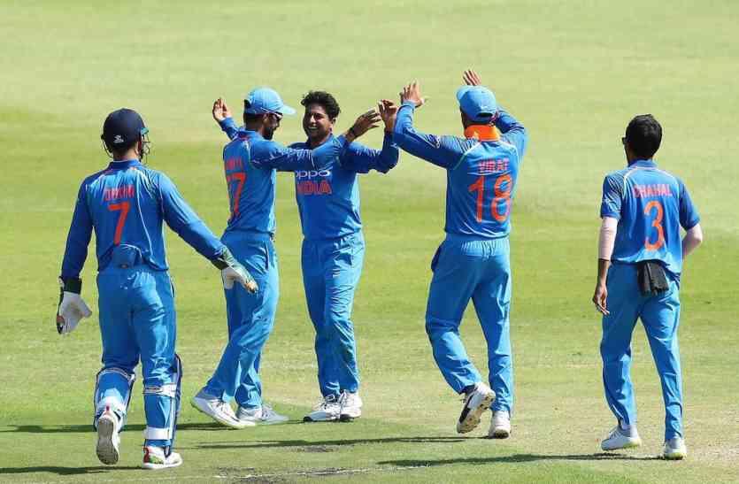 INDvSA : काम कर गया गुलाबी गैंग का टोटका, चौथा वन डे 5 विकेट के अंतर से जीती मेजबान टीम