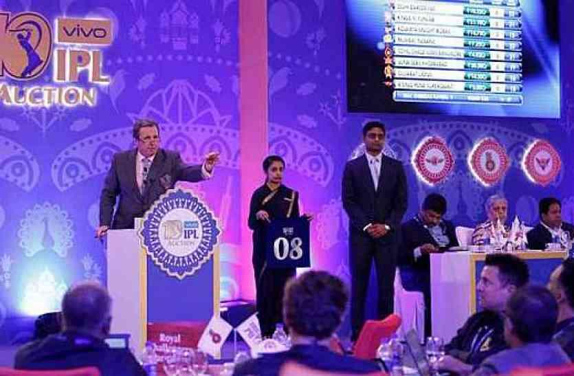 IPL नीलामी के दर्शकों की संख्या में 6 गुना की बढ़ोतरी