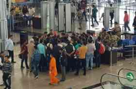 BREAKING: कोलकाता जाने वाली फ्लाइट में आई तकनीकी खराबी, यात्रियों में मचा हड़कंप