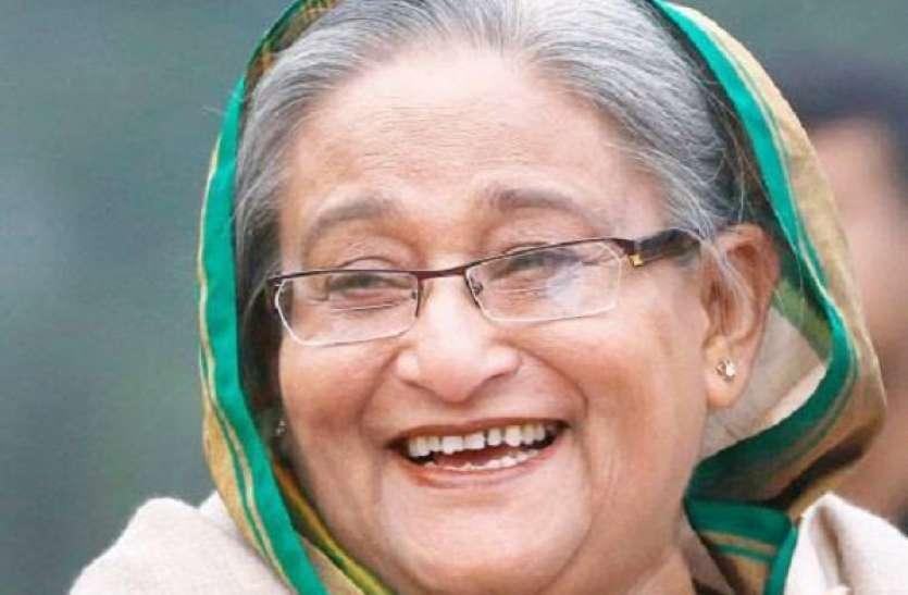 बांग्लादेश चुनाव: प्रधानमंत्री शेख हसीना को भारी बहुमत, विपक्ष ने लगाया धांधली का आरोप