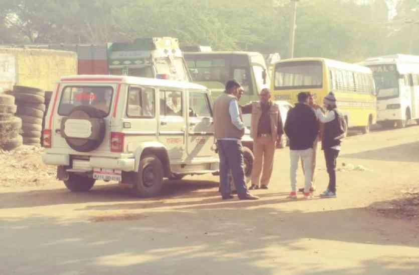 रीट परीक्षा से पहले पुलिस ने अलवर में पकड़ा नकल का गिरोह, परीक्षार्थी से मोबाइल किए जब्त