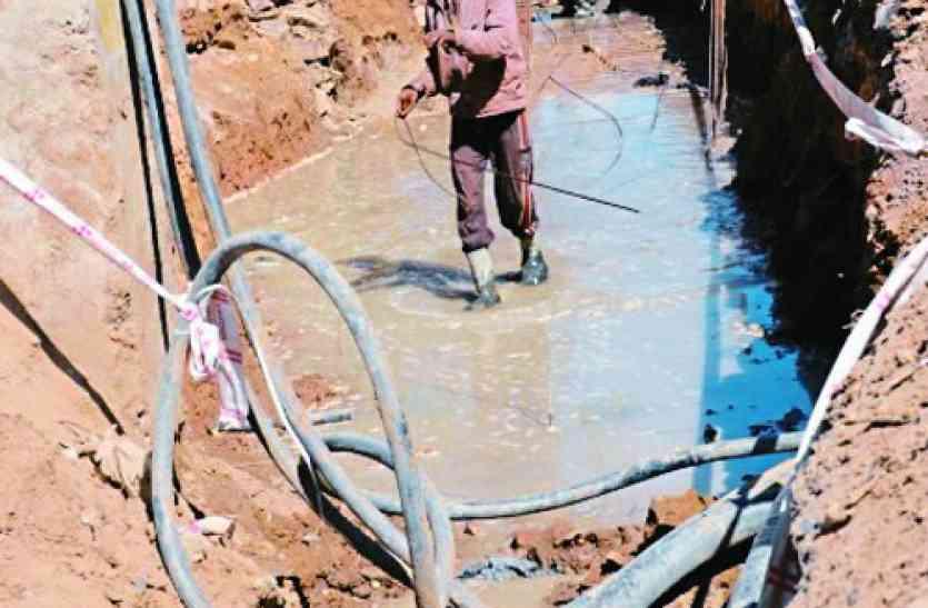 बाड़मेर के शहीद चौराहे पर चल रहा नाला निर्माण बन सकता है हादसे का जोन, मंडराता रहेगा खतरा,जानिए पूरी खबर