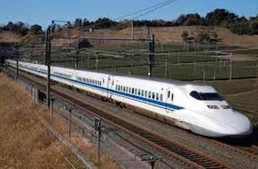 बुलेट ट्रेन के सर्वे का विरोध