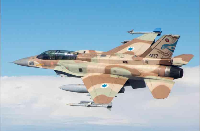 सीरियाई हमले में इजरायली लड़ाकू विमान एफ-16 क्षतिग्रस्त, पायलट सुरक्षित