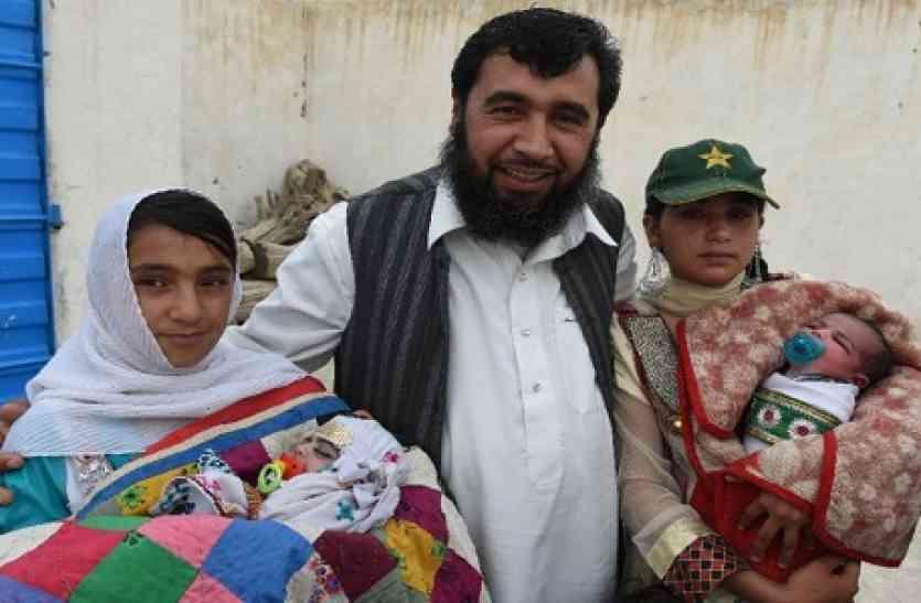 सौ बच्चो का बाप बनना चाहता है ये पाकिस्तानी शख्स, अब तक बन चुकें इतने बच्चो के पिता