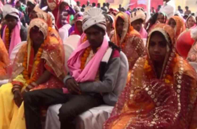 मुख्यमंत्री सामूहिक विवाह योजना से यहां 47 गरीब बेटियों को मिली नई जिंदगी