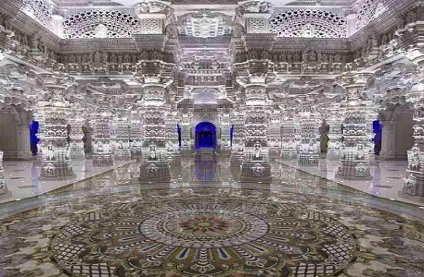 अमेरिका में बन रहा है दुनिया का सबसे बड़ा हिंदू मंदिर, खूबियां जान उड़ जाएंगे होश