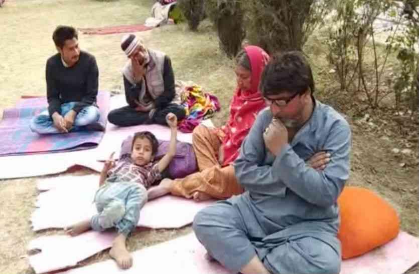आतंकियों की दहशत से छोड़ा कश्मीर, अब भूख और बीमारी से जूझ रहा है ये परिवार