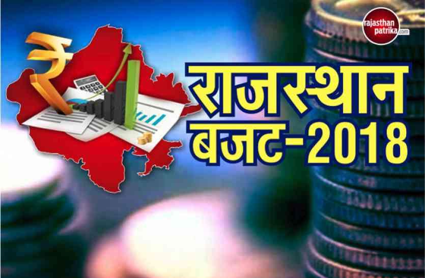 राजस्थान बजट 2018: जानें, प्रदेशवासियों के लिए बजट में क्या हुई बड़ी घोषणाएं- तो किसे क्या मिला