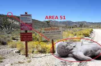 एरिया-51 एक ऐसी जगह जिसका मानचित्र में नहीं कोई जिक्र, सरकार भी साधी चुप्पी